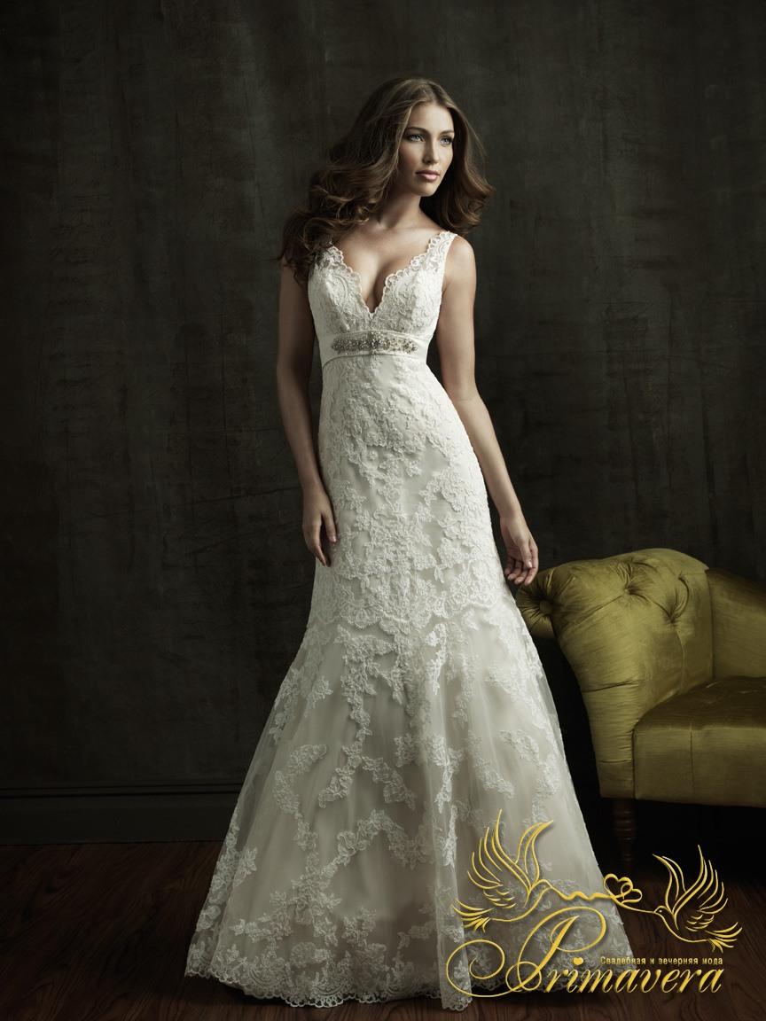 Фотографии свадебных платьев типа Русалка.