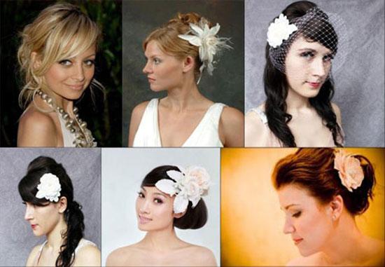 ...стрижку, то ваш вариант прическа с... фото: Свадебные прически с разнообразными челками - фишка сезона 2014!
