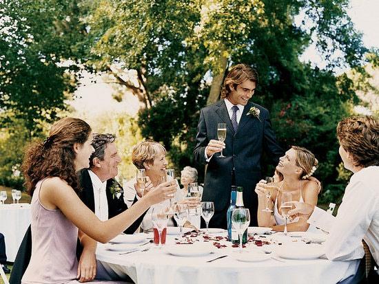 Благодарственная речь на свадьбе гостям