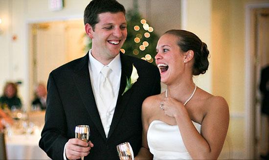 Ответное слово молодожёнов на свадьбе