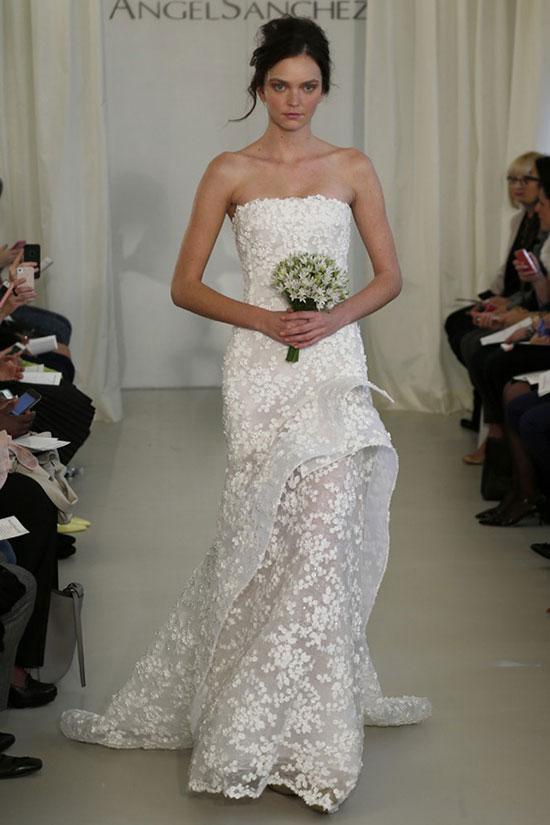 Свадебные платья 2014 - коллекции известных дизайнеров фото 5