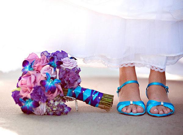 свадьба в бирюзовом цвете фото 1