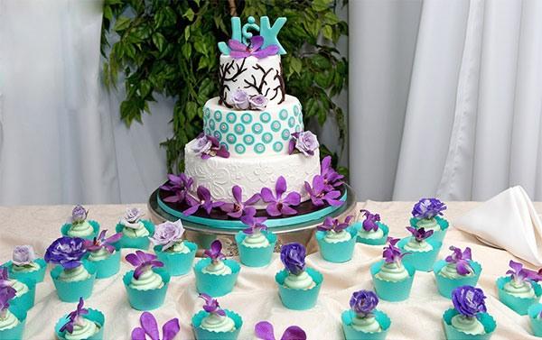 свадьба в бирюзовом цвете фото 10