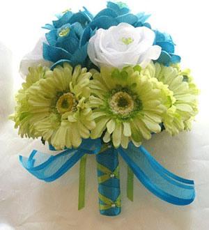 свадьба в бирюзовом цвете фото 12-3