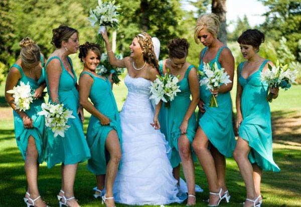 свадьба в бирюзовом цвете фото 7