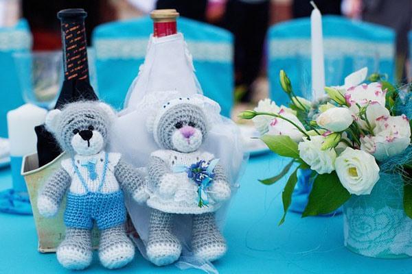 свадьба в бирюзовом цвете фото 9