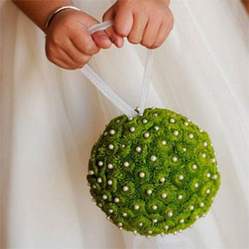 Букет невесты из хризантем фото 6-1