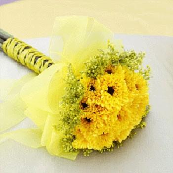 Букет невесты из хризантем фото 6-2