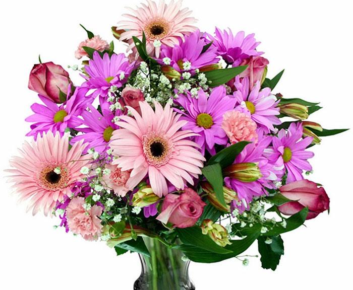 Букет невесты из хризантем фото 8-1