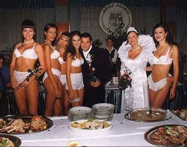 Самые неудачные свадебноы фото  13