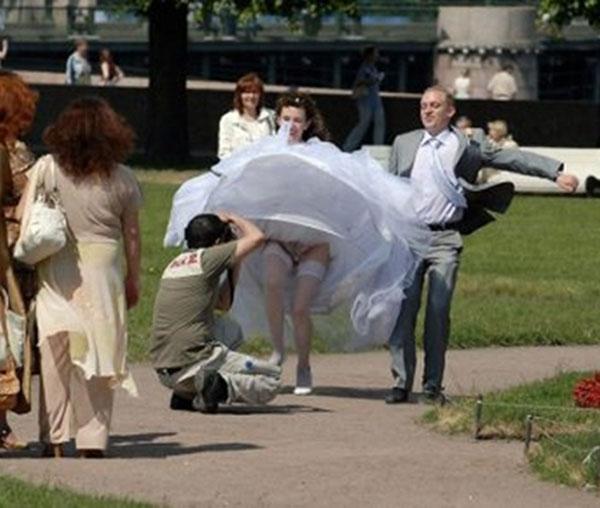 Самые неудачные свадебноы фото 16