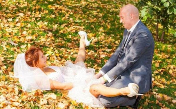 Самые неудачные свадебноы фото 19