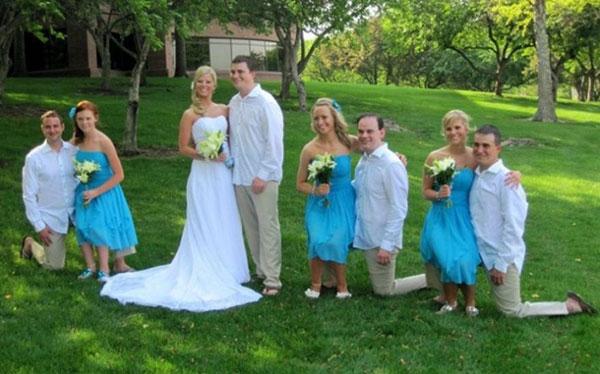 Самые неудачные свадебноы фото 26