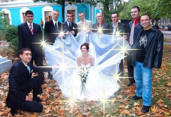 Самые неудачные свадебноы фото 3