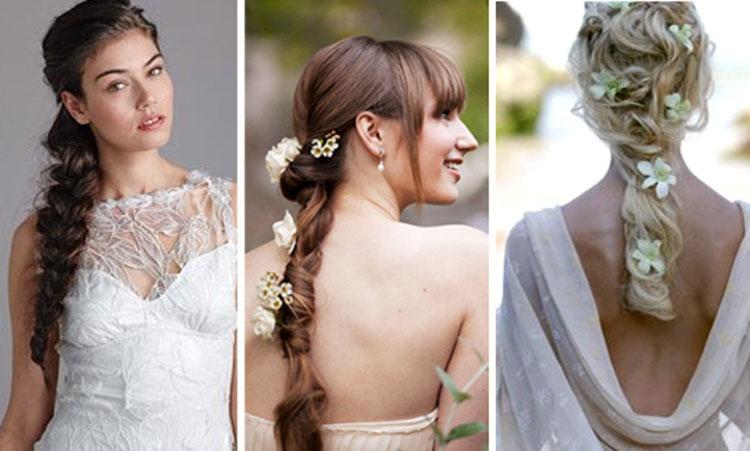 Свадебная прическа с косами фото 4