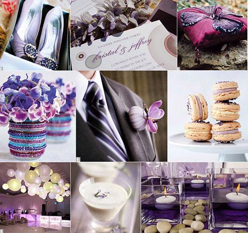 Сиреневая свадьба или свадьба в сиреневых тонах фото 1