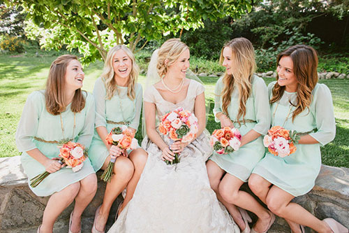 Мятная свадьба или свадьба в мятном цвете фото 15