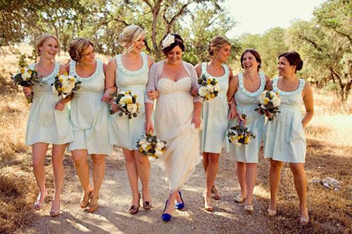 Мятная свадьба или свадьба в мятном цвете фото 16