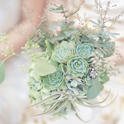 Мятная свадьба или свадьба в мятном цвете фото 17