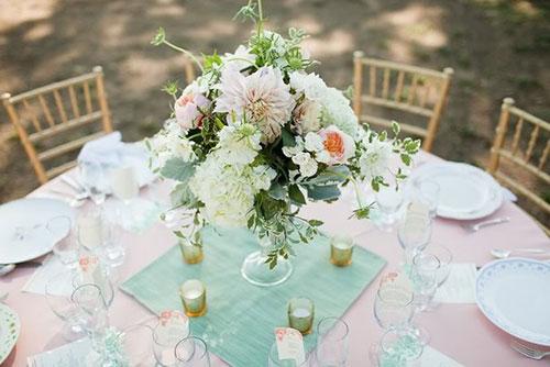 Мятная свадьба или свадьба в мятном цвете фото 19