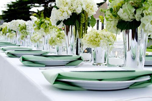 Мятная свадьба или свадьба в мятном цвете фото 20
