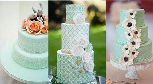 Мятная свадьба или свадьба в мятном цвете фото 21