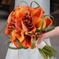 Оранжевая свадьба или свадьба в оранжевом цвете фото 13
