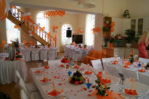 Оранжевая свадьба или свадьба в оранжевом цвете фото 17