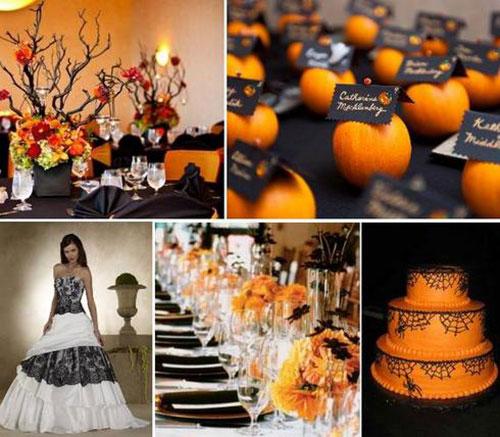 Оранжевая свадьба или свадьба в оранжевом цвете фото 2
