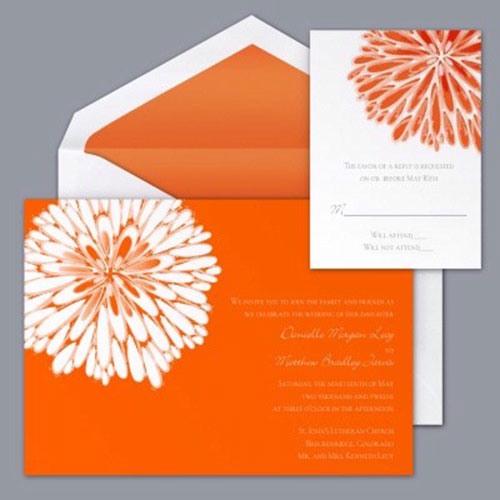 Оранжевая свадьба или свадьба в оранжевом цвете фото 3
