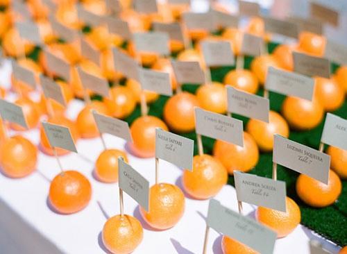 Оранжевая свадьба или свадьба в оранжевом цвете фото 5