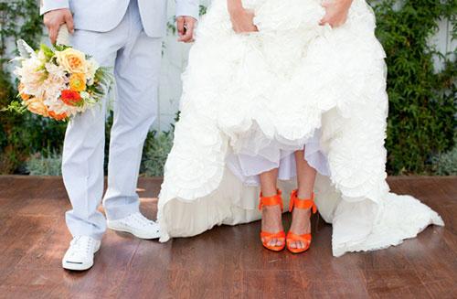 Оранжевая свадьба или свадьба в оранжевом цвете фото 8