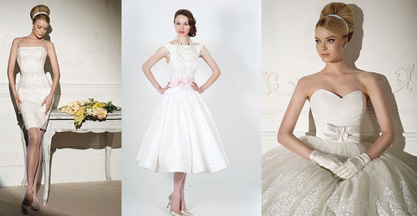 мода на свадебное платье-футляр, а-ля Одри Хэпберн. Эта знаменитая актриса покорила всех не только своим талантом, но и безупречным чувством стиля