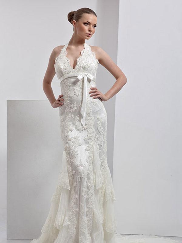 Свадебные платья в стиле ретро: фото