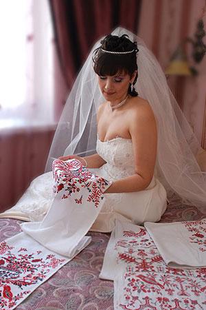 свадебный рушник фото 2
