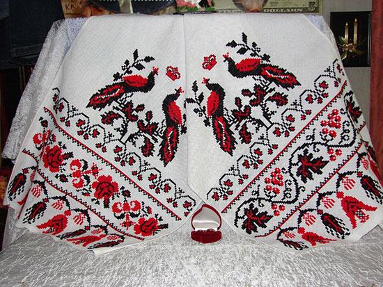 свадебный рушник фото 4