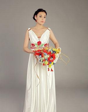 Платья в калмыцком стиле