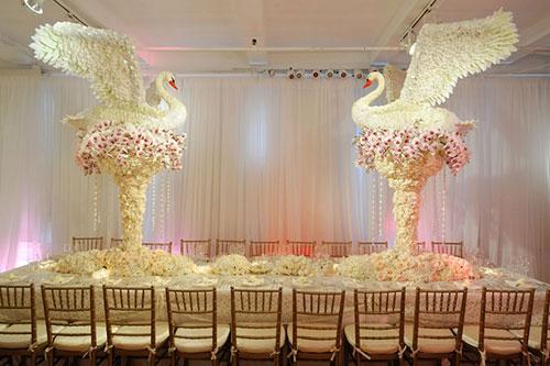 Т образный стол на свадьбу 27