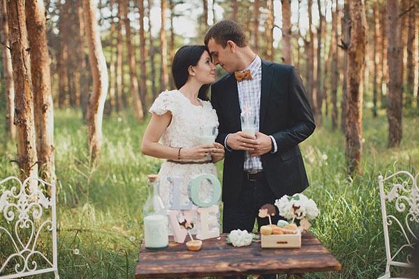 Свадьба в стиле рустик фото 11