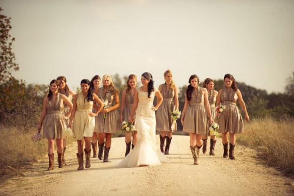 Свадьба в стиле рустик фото 14