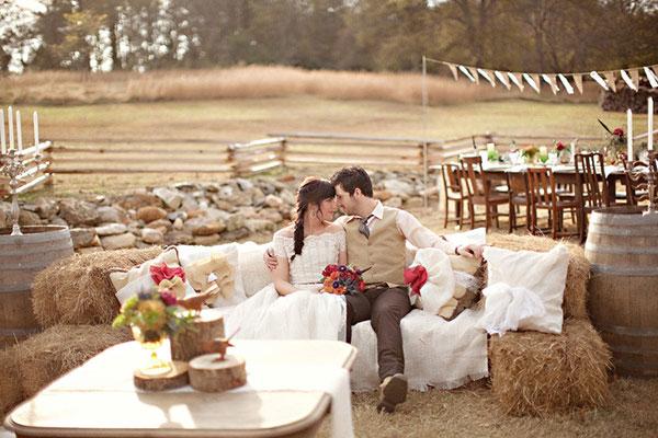 Свадьба в стиле рустик фото 2