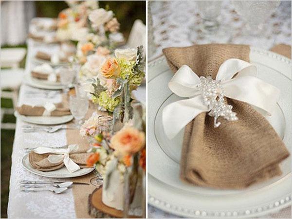Стиль в свадьбе рустик