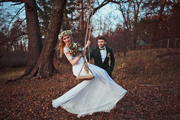 Свадьба в стиле рустик фото 3