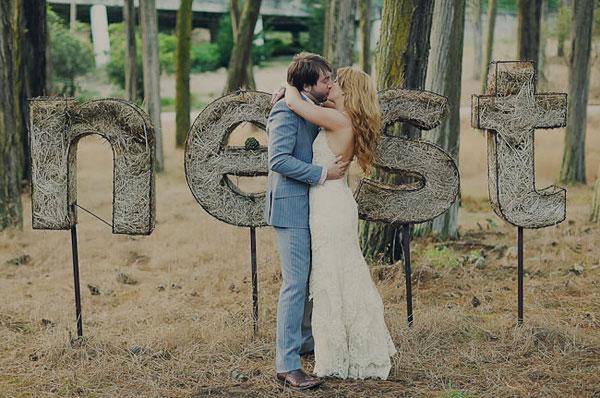 Свадьба в стиле рустик фото 4