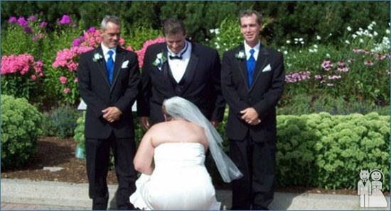 Неудачные фото со свадьбы