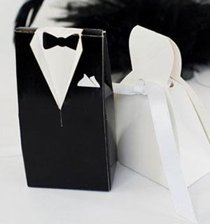 Черно-белая свадьба MaxSmile