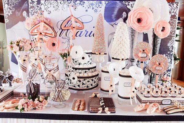 Фон пироженки