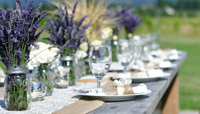 Стиль прованс свадьба