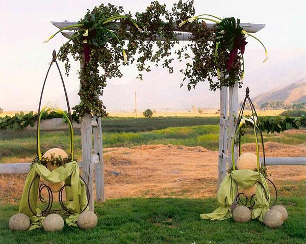 свадебные арки фото 6