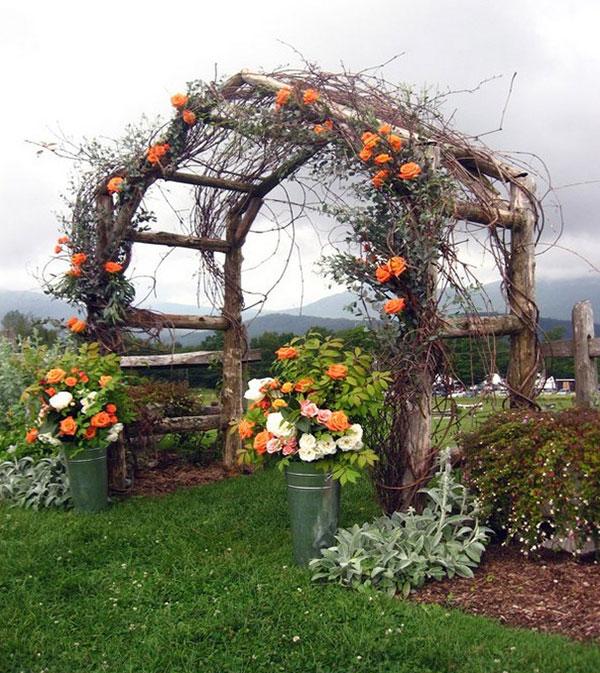 свадебные арки фото 29